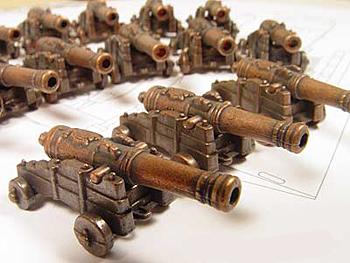 Пушки для моделей кораблей своими руками