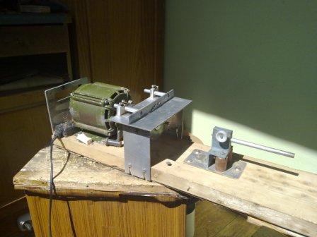 Сверлильный станок из стиральной машины