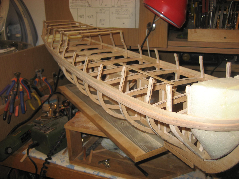 Как построить корпус шлюпа своими руками