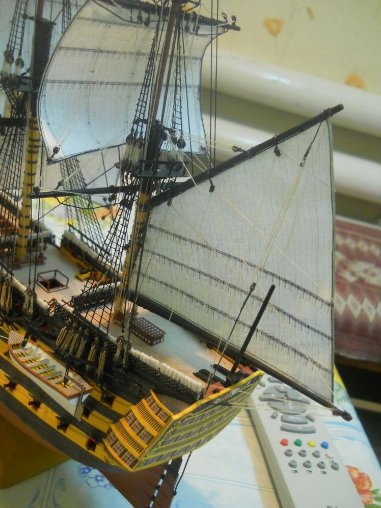 Как сделать такелаж для модели корабля
