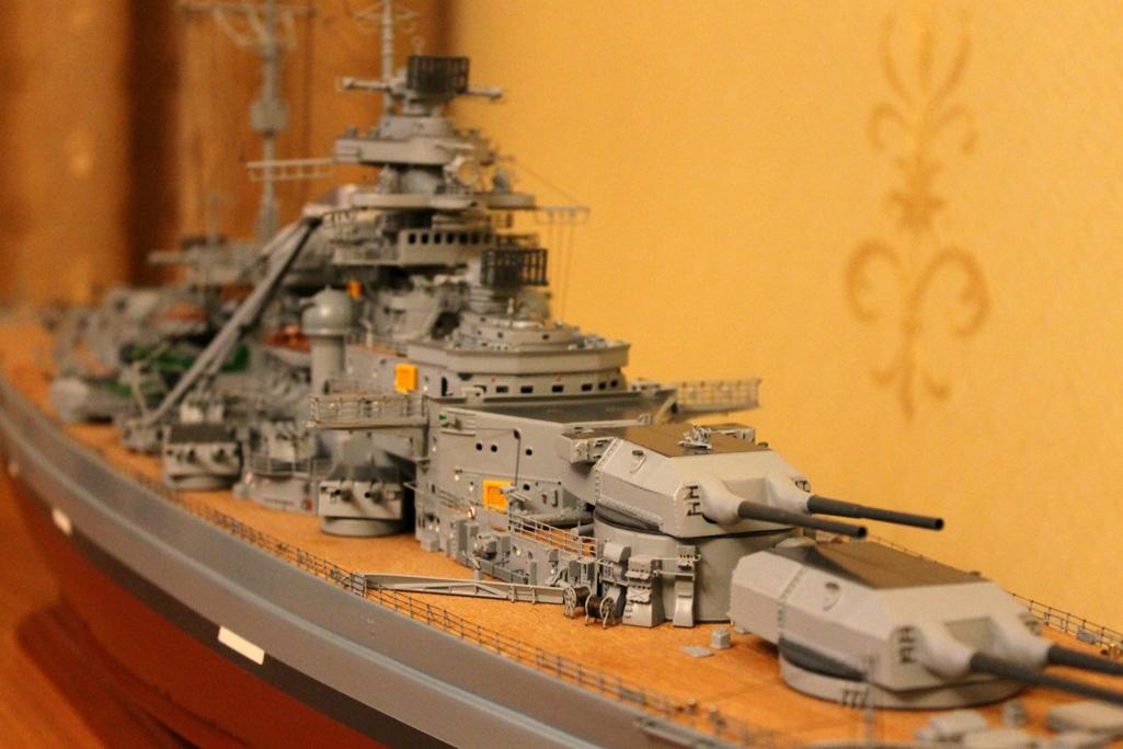 Инструкция по сборке модели бисмарк
