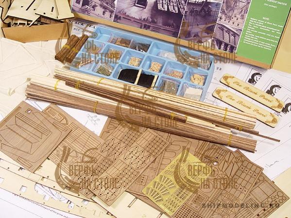 модель корабля для сборки