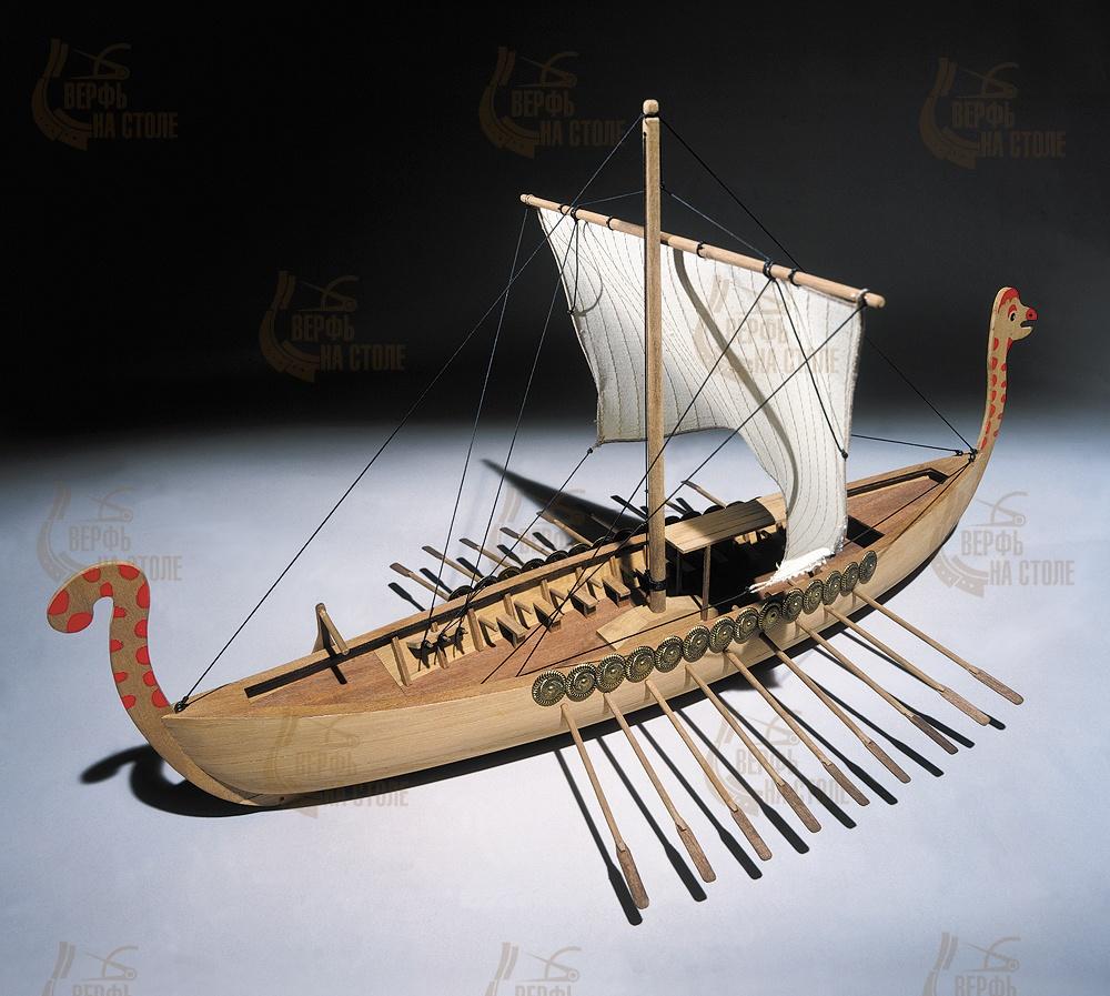 Модель корабля своими руками пластик 135