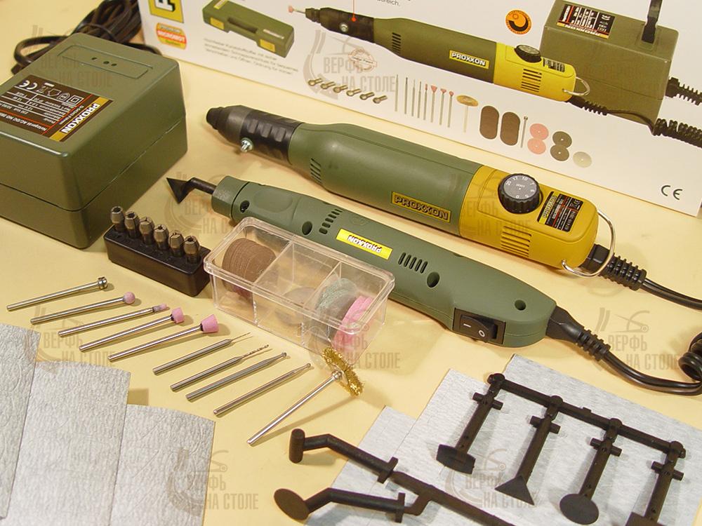 """Дополнительный набор из электроинструментов, 45 предметов MS106  - """"Верфь на столе"""""""