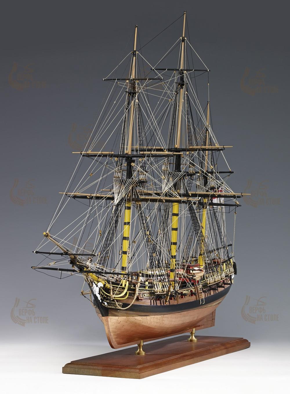 """Сборная модель HMS Pegasus AM1300-05-RUS Amati рекомендуем - """"Верфь на столе"""""""