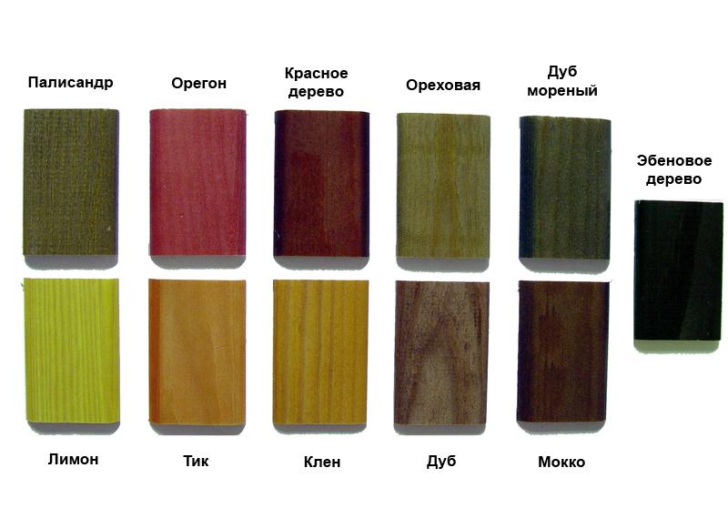 Эбеновое дерево морилка цвет фото