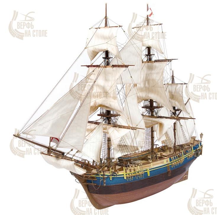 Модель корабля своими руками пластик 159