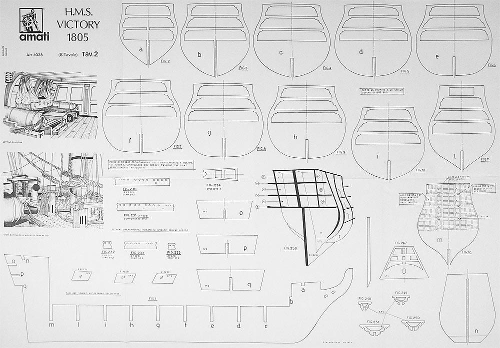 Схемы кораблей виктори