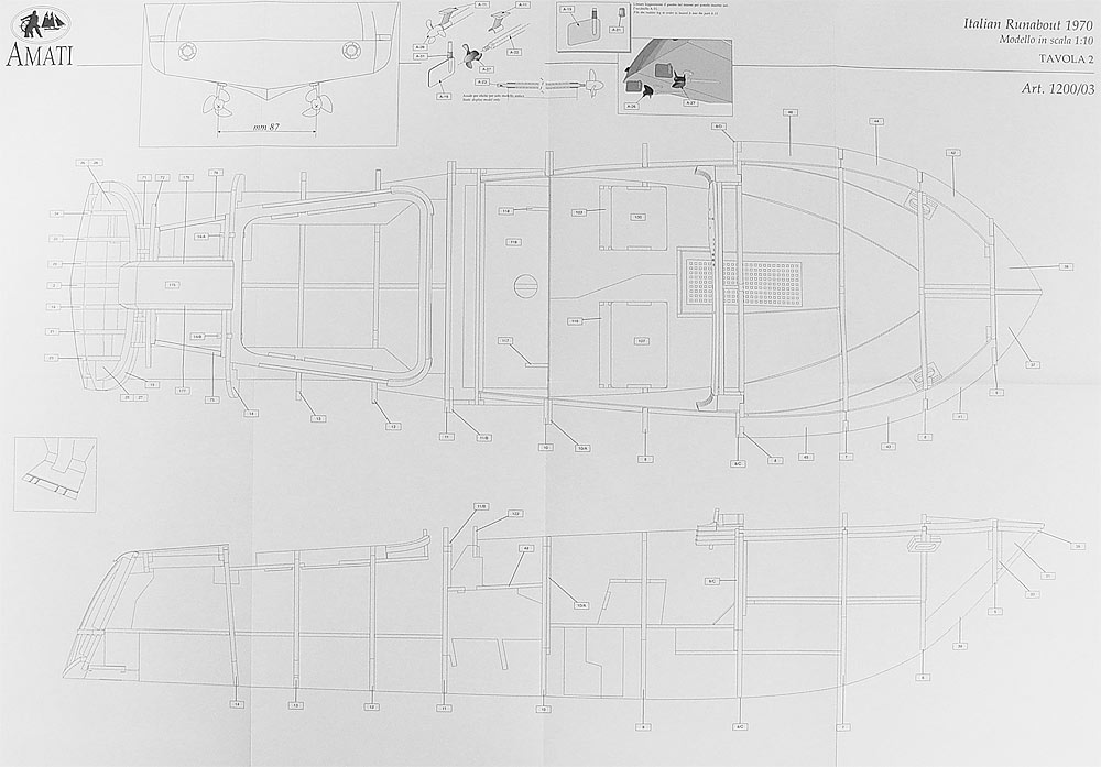 Чертежи минимотрных лодок из пластика