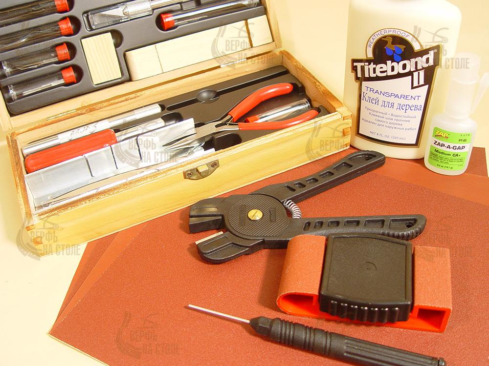"""Расширенный набор инструментов из 40 предметов MS103  - """"Верфь на столе"""""""